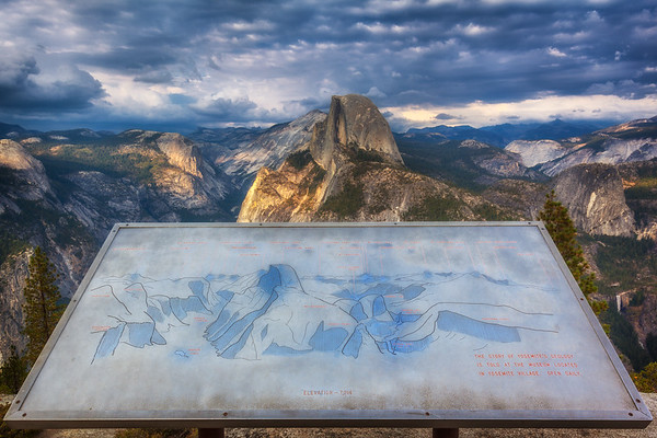 Yosemite Park Lookout