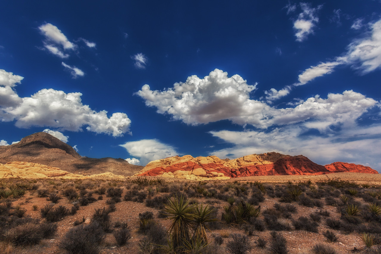 The striking Landscape of Red Rock Canyon National Park
