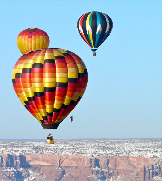Looking for a travel experience to add to your bucket list that you won't soon forget? Alan and I highly recommend a hot air balloon ride at the Bluff Balloon Festival in Bluff, Utah.