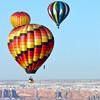 Three Balloons at Bluff International Balloon Festival
