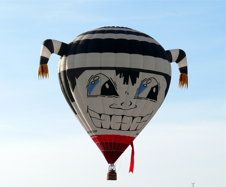 Koshare Gallup Balloon in Bluff, Utah