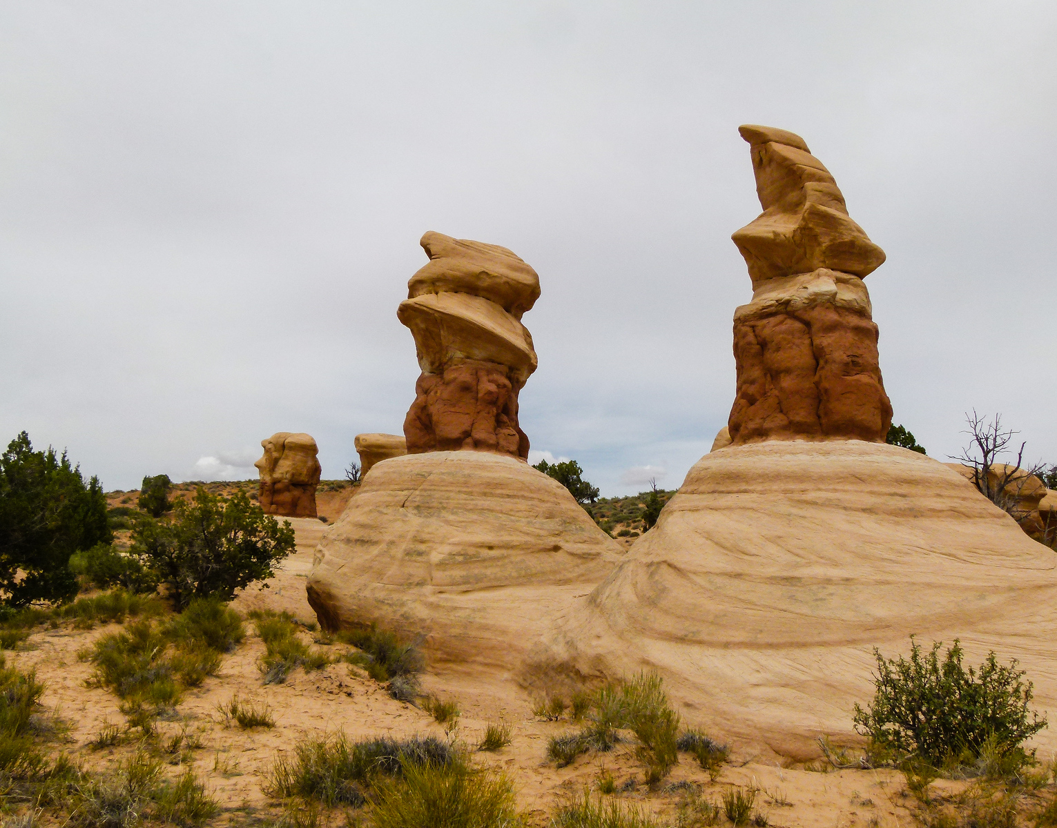 Hoodoos in Devil's Garden, Grand Staircase-Escalante National Monument in southern Utah.