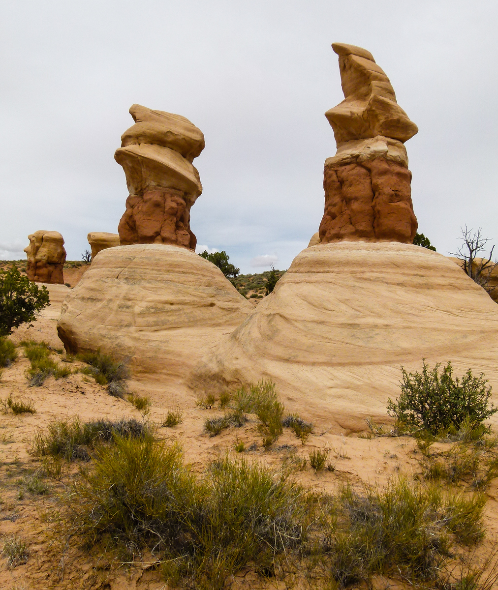 Explore Devils Garden when you drive Highway 12 Scenic Byway near Escalante, Utah.
