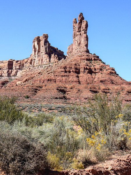 In southern Utah, explore a mini Monument Valley at Valley of the Gods.