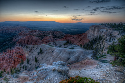 Bryce Canyon National Park during winter in Utah