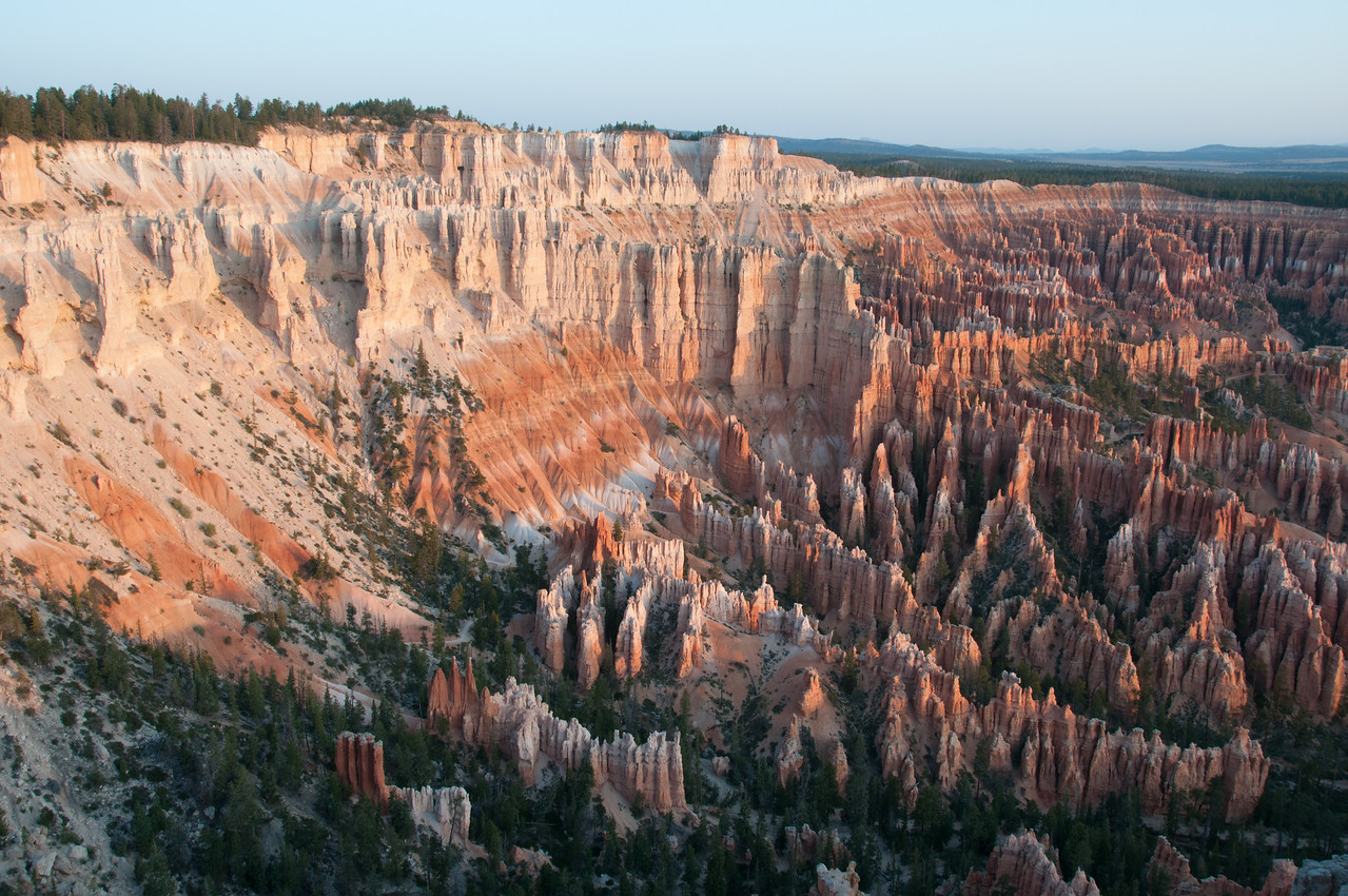 Sedimentary rock formations at Bryce Canyon National Park, Utah