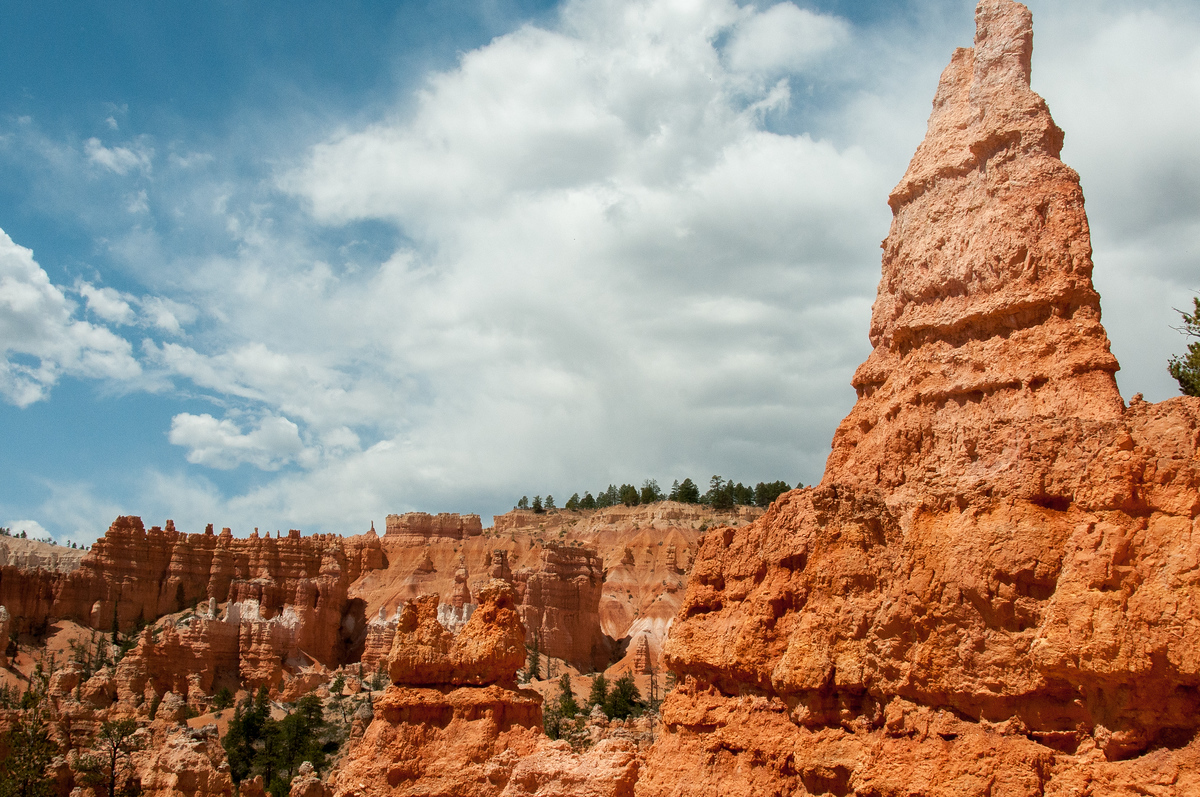 Red Rock Hoodoos at Bryce Canyon National Park, Utah
