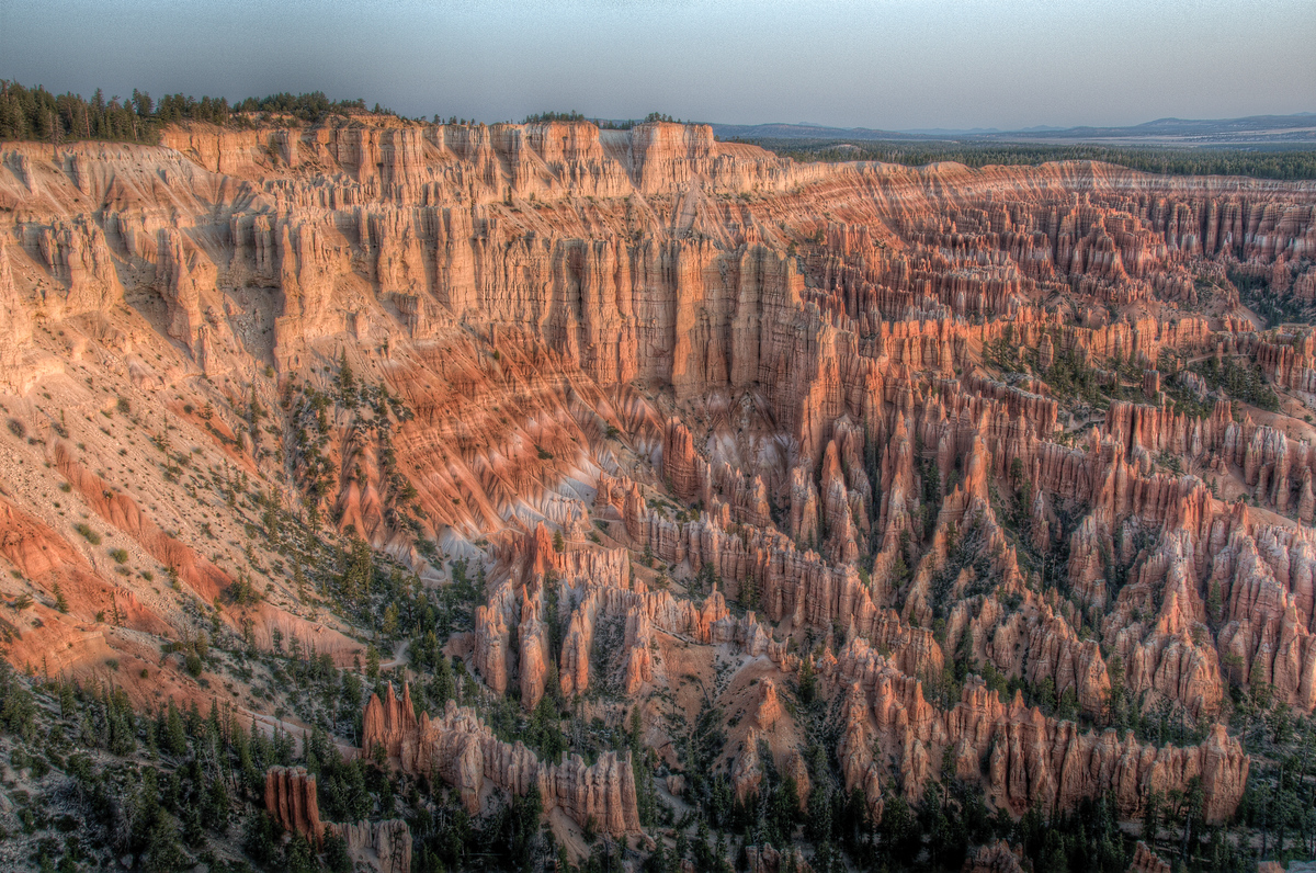 Morning at the Bryce Canyon Amphitheater, Utah