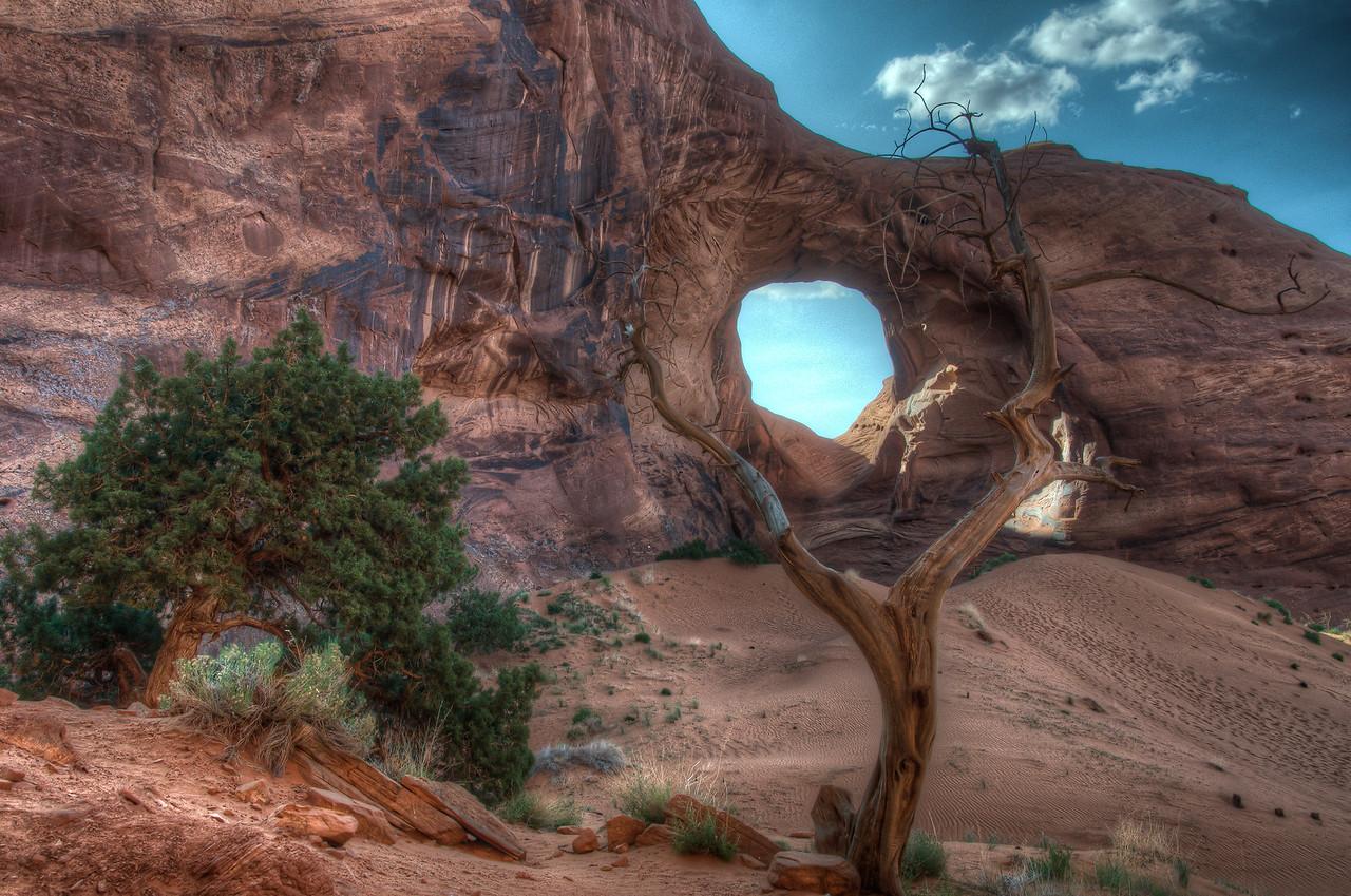 Monument Valley in Navajo Nation in Utah