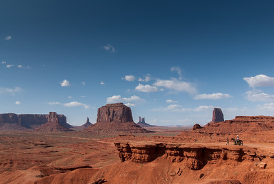 John Ford's Point in Monument Valley, Utah