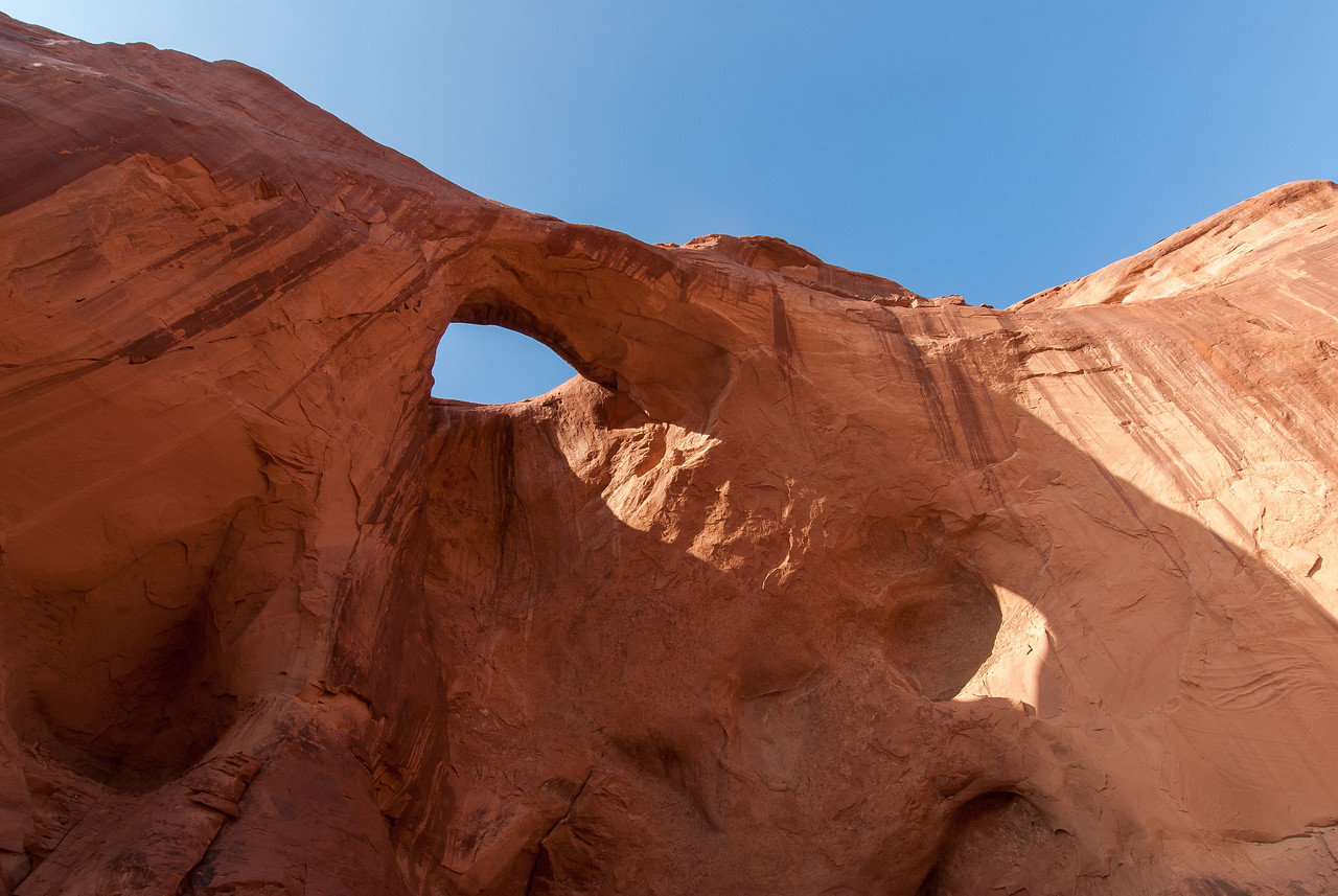 Arches in Monument Valley, Utah