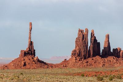 Totem Pole in Monument Valley, Utah