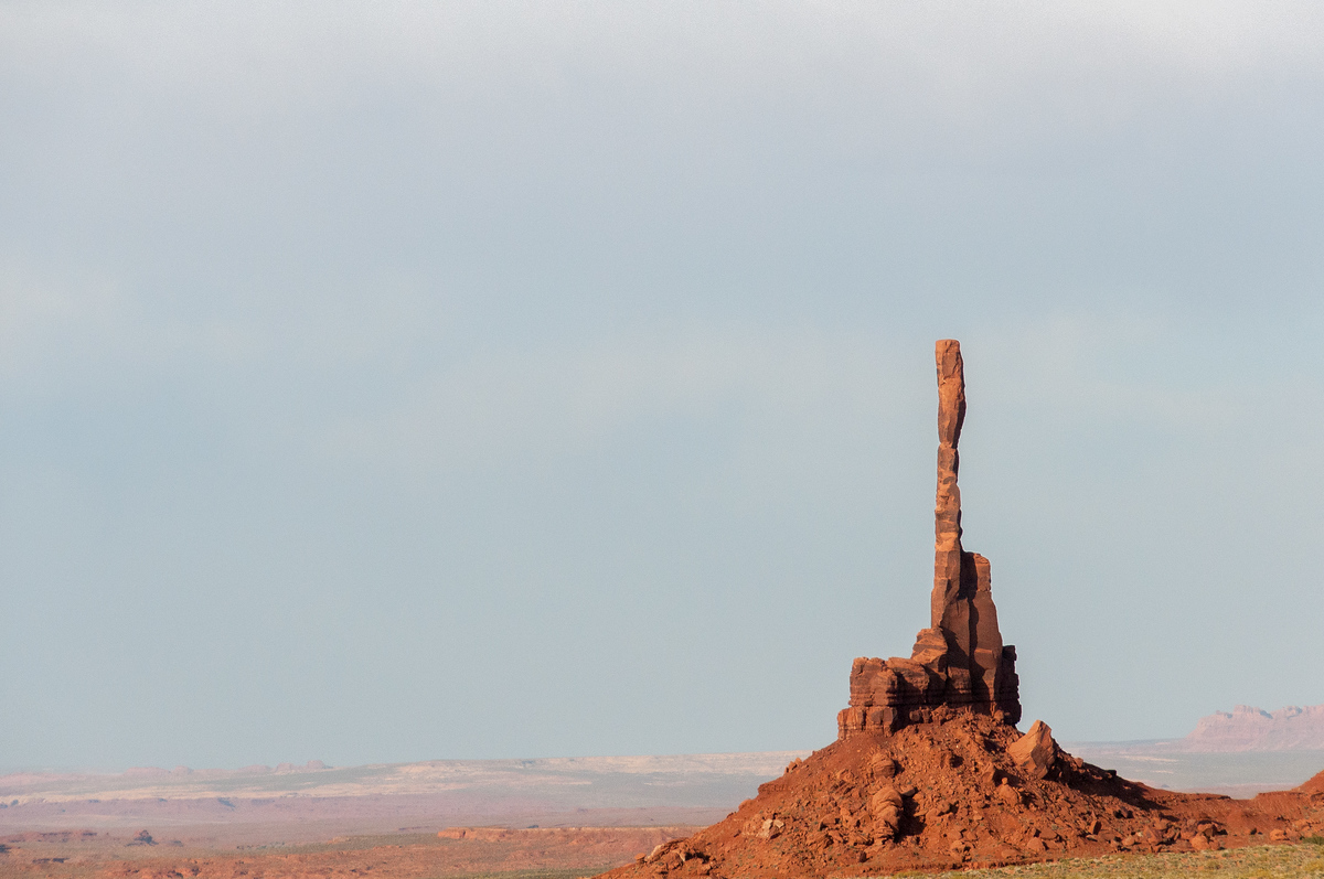 Rock Pillar in Monument Valley, Utah