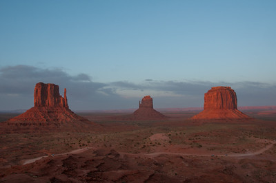 Panorama of Monument Valley in Utah