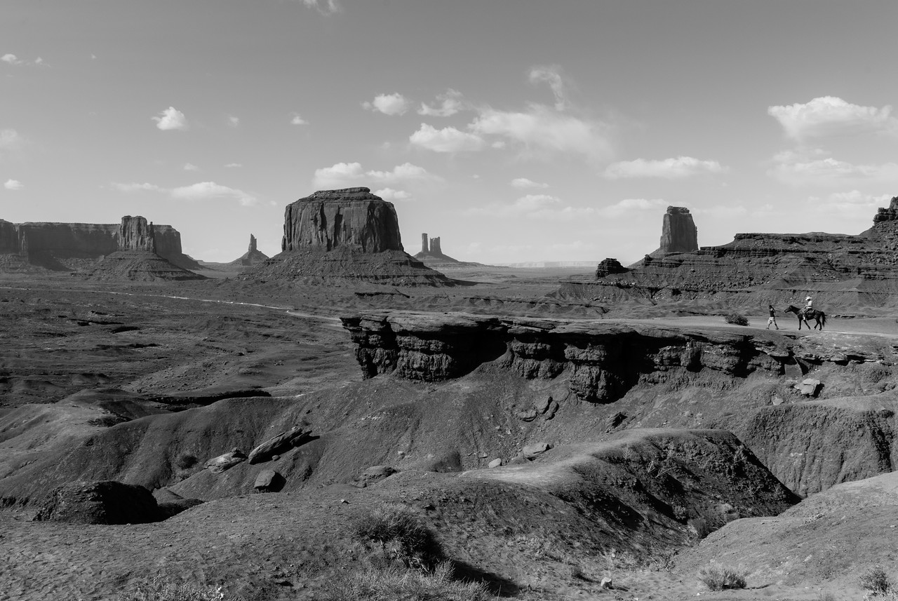 John Ford's Point in Monument Valley in Utah