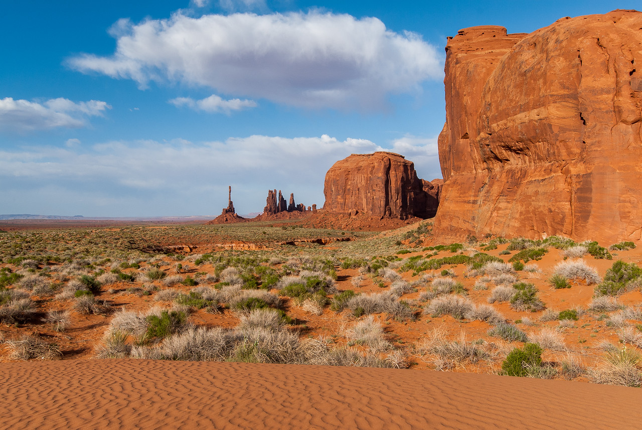 Monument Valley in Utah, USA