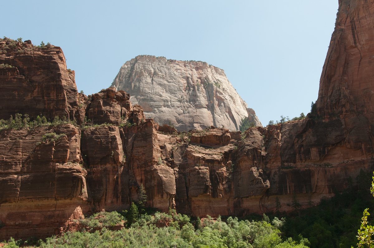 Rock Formations at Zion National Park, Utah