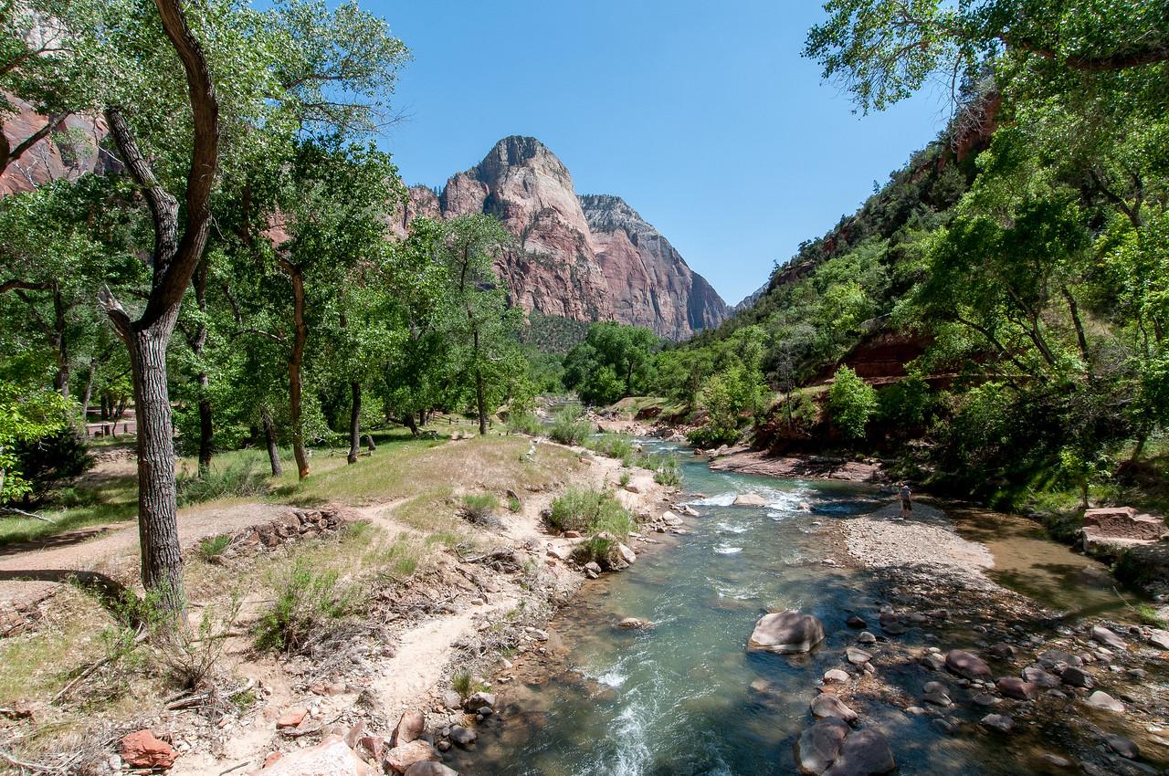 Virgin River in Zion National Park, Utah