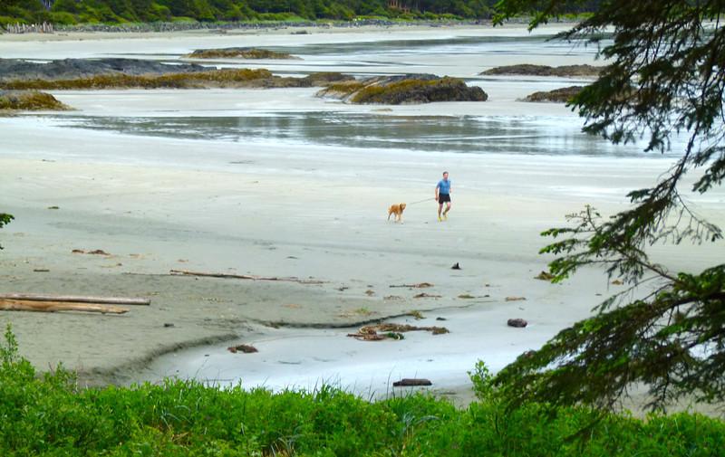 Walking Chesterman Beach in Tofino, B.C.