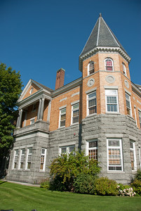 Haskell Free Library on the US-Canadian border in Derby Line, Vermont