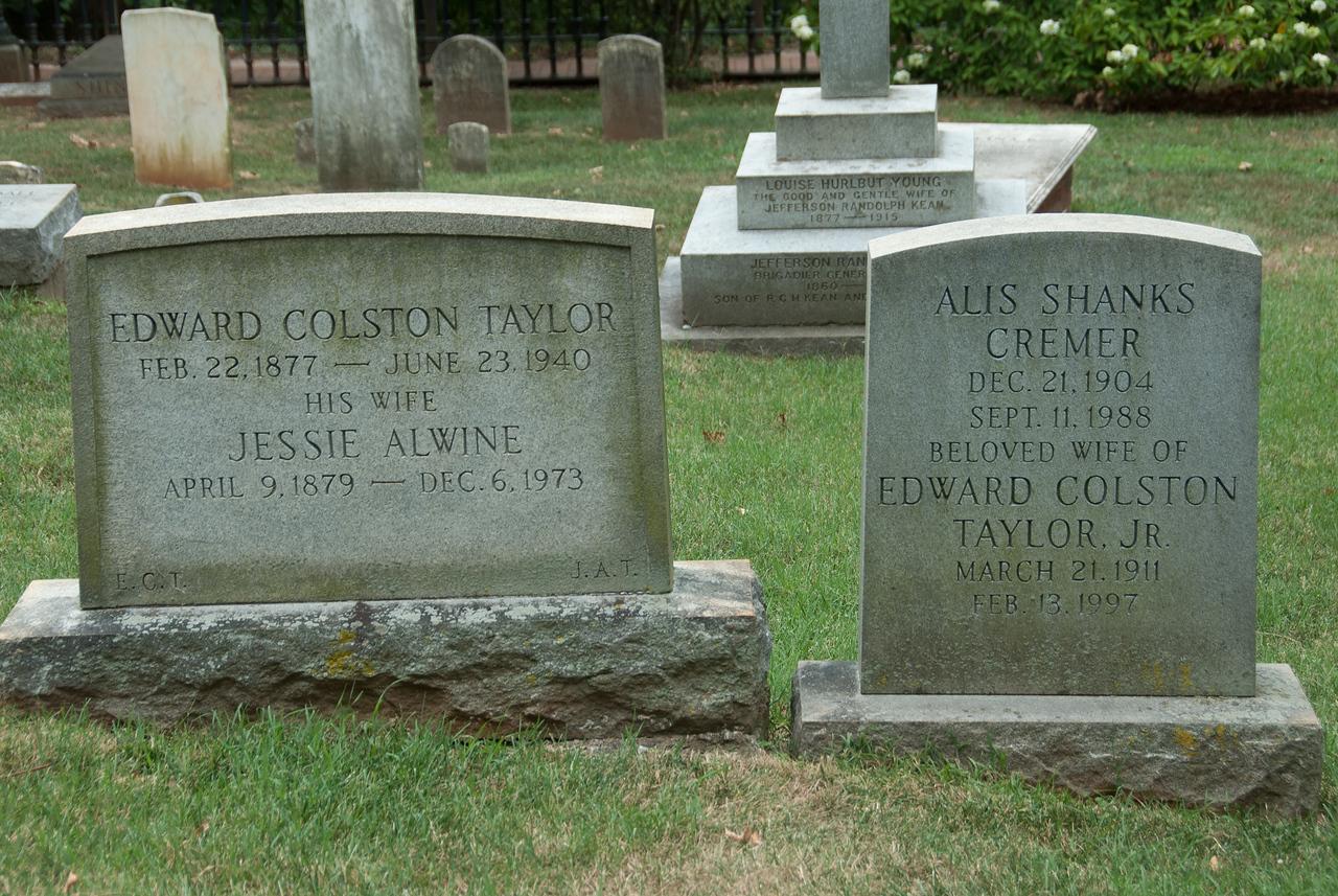 Thomas Jefferson descendants burial site in Monticello, Virginia