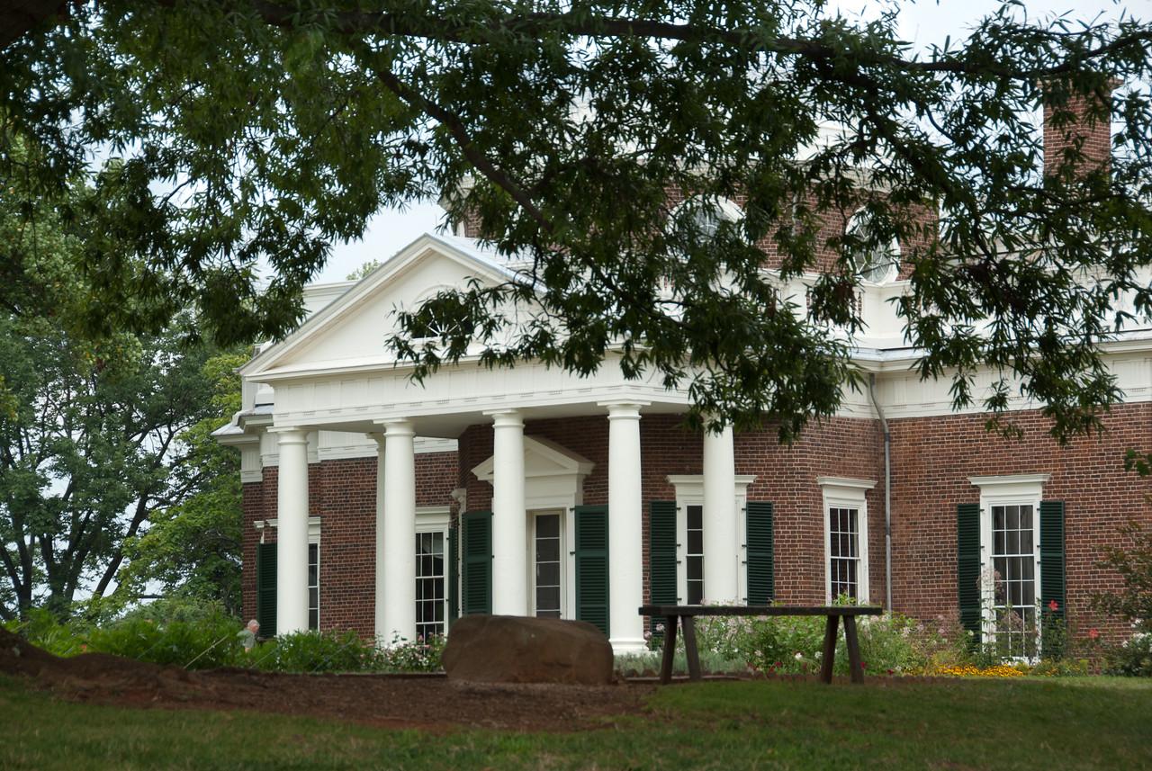 Monticello in Charlottesville, Virginia