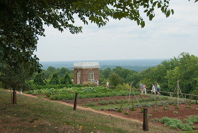 Vegetable garden at Monticello, Virginia