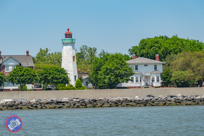 Old Point Comfort Lighthouse on Fort Monroe as Seen from the Miss Hampton II (©simon@myeclecticimages.com)