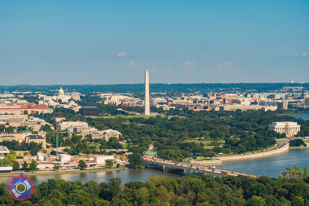 Washington DC as Seen from Arlington, VA (©simon@myeclecticimages.com)