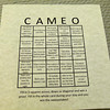 Play romance bingo at Cameo Heights Mansion Bed and Breakfast
