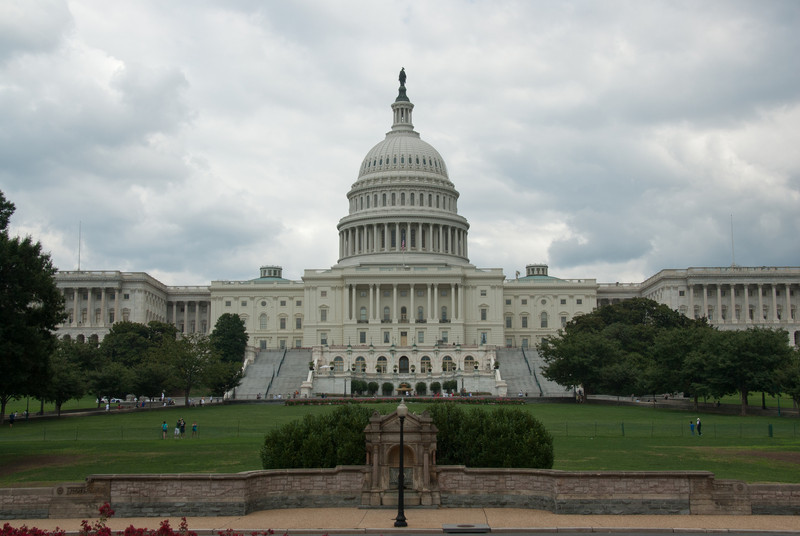The US Capitol Building in Capitol Hill, Washington DC