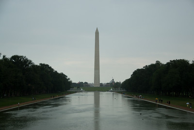 The Washington Monument in National Mall, Washington DC