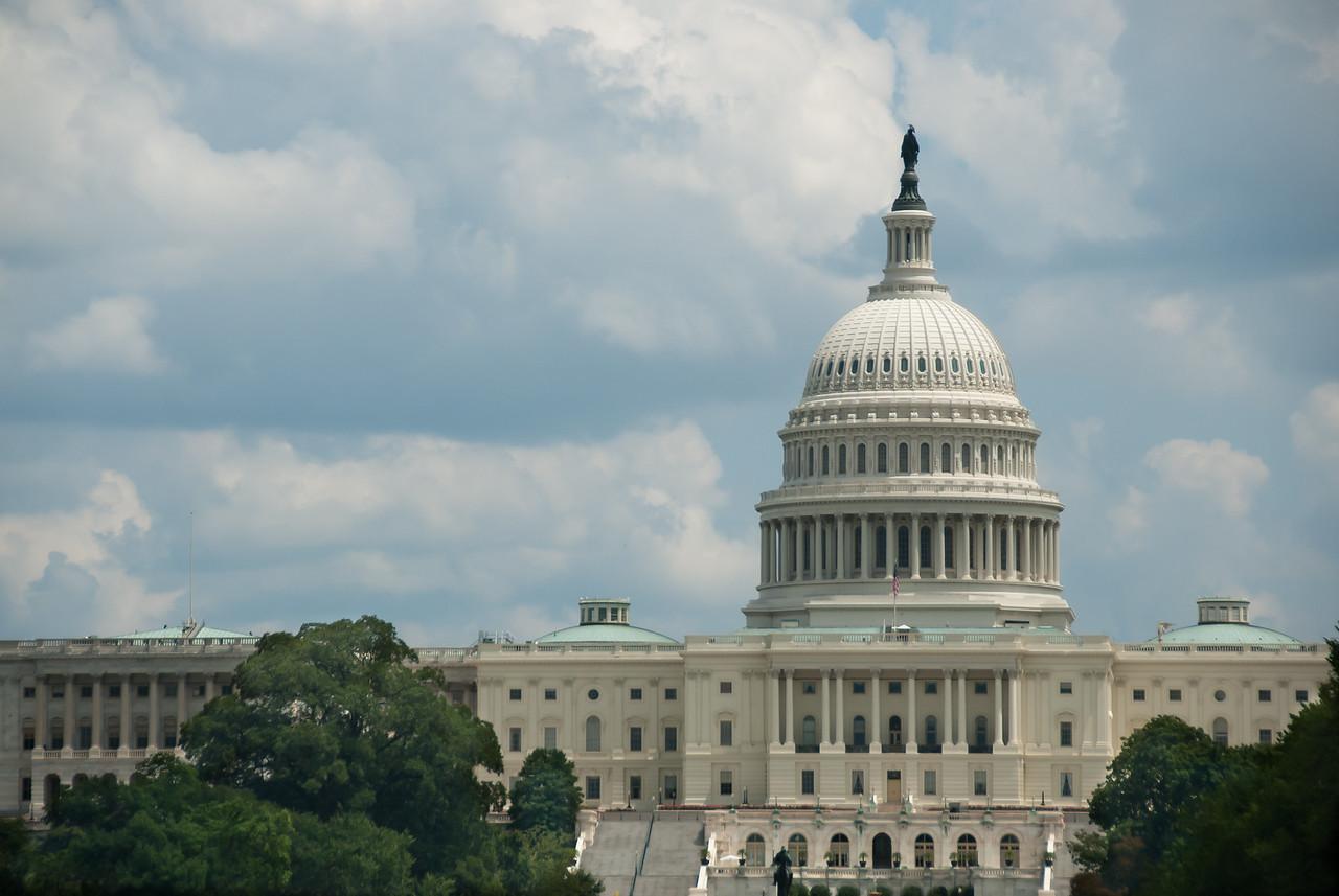 The US Capitol at Washington DC, Maryland