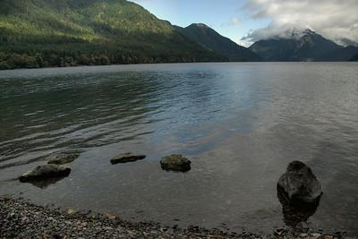 Elwha River in Olympic National Park, Washington