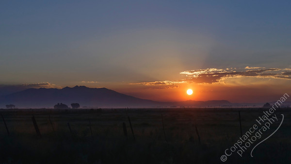Mount Blance - sunrise