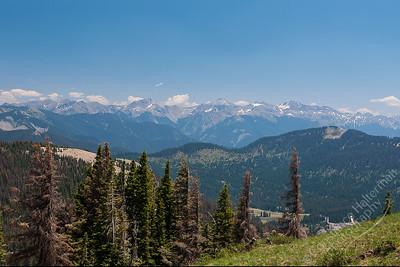 Wolf Creek Pass - Continental Divide