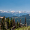 Lobo Overlook - peaks