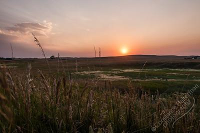 Gillette - sunset