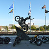 Plaza at the Harley-Davidson Museum