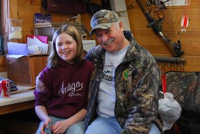 Inside a lumber shop in Antigo, Wisconsin