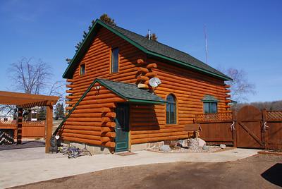 Cabin house in Antigo, Wisconsin