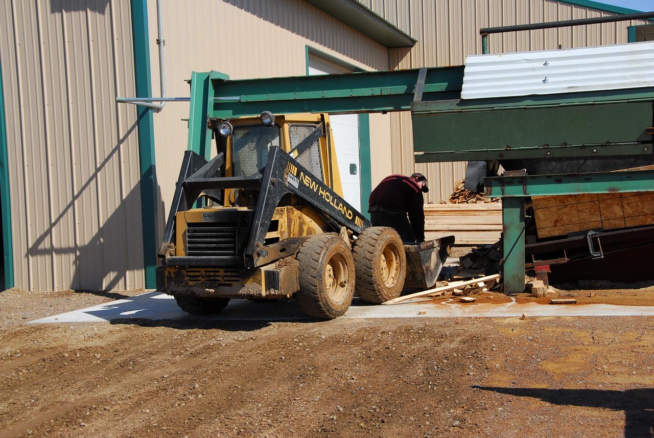 Lumber equipment in Antigo, Wisconsin
