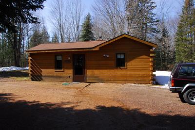 Lumber house in Antigo, Wisconsin