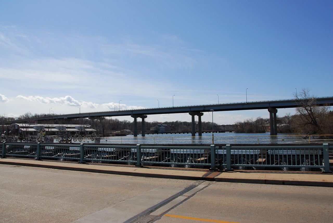 Wisconsin Route 47 Bridge over Fox River in Appleton, Wisconsin