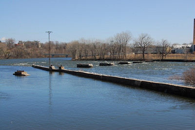 Fox River in Appleton, Wisconsin