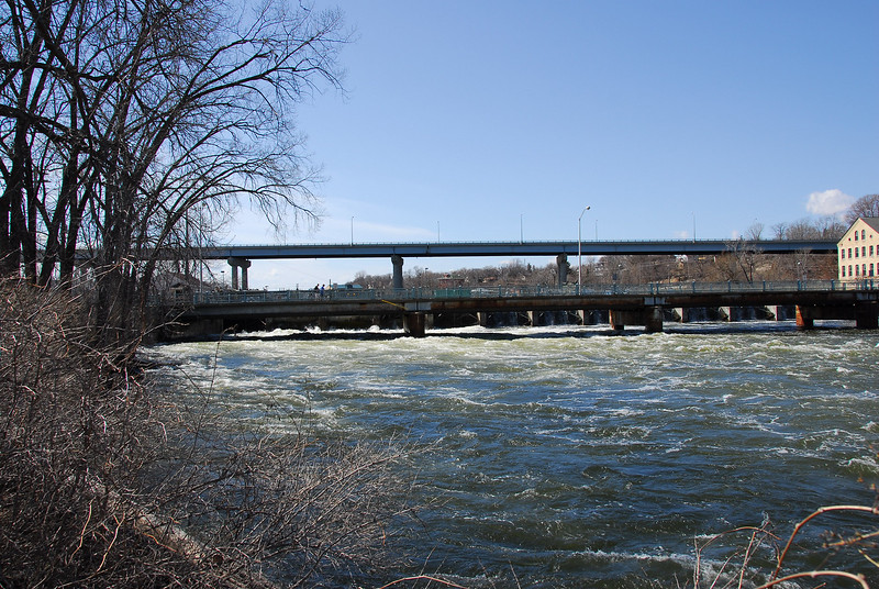 The Wisconsin Route 47 bridge over the Lower Fox River in Appleton