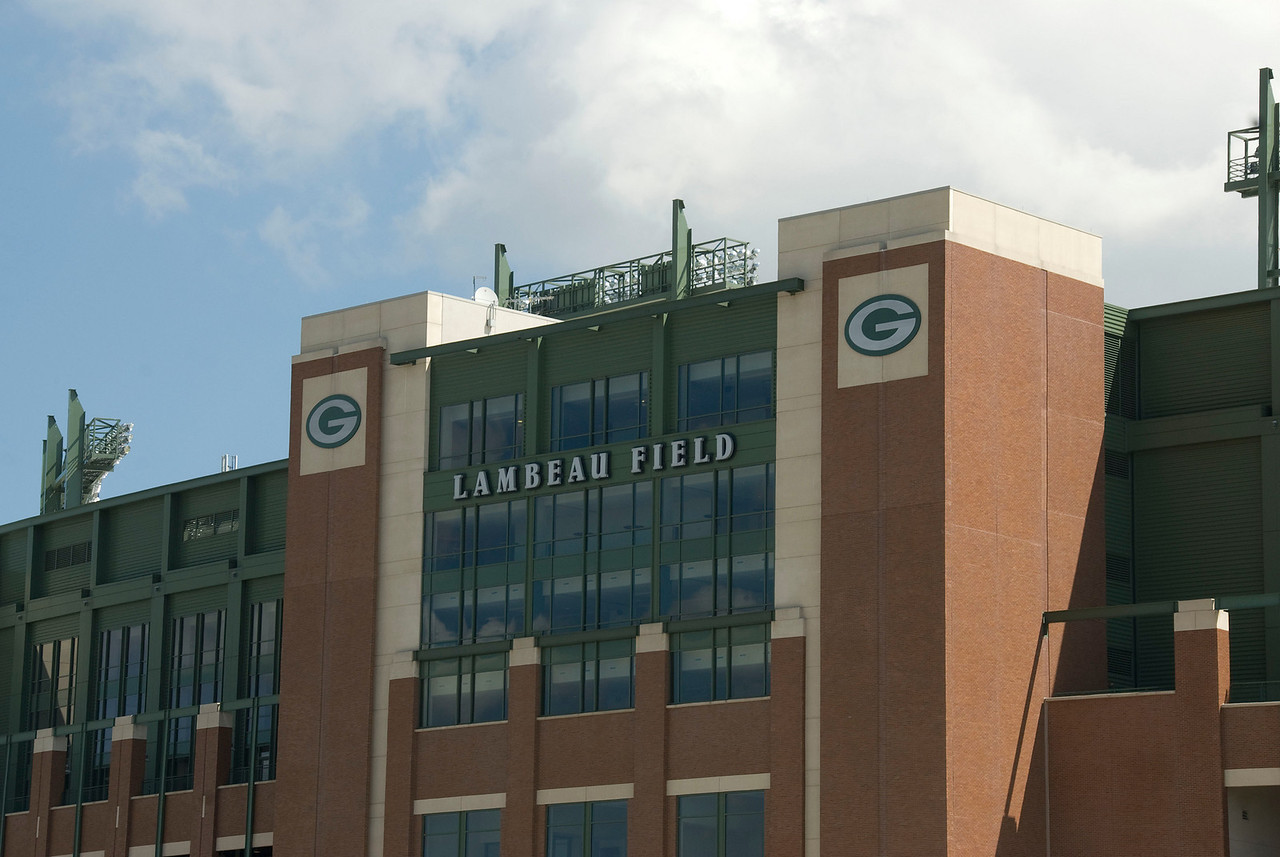 Lambeau Field, the home of Green Bay Packers, in Wisconsin