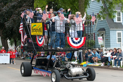 Appleton's Flag Day Parade in Wisconsin