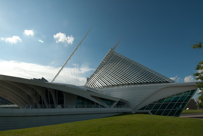 Milwaukee Art Museum in Milwaukee, Wisconsin