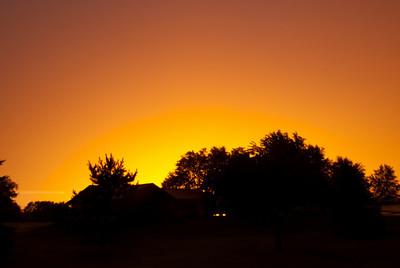 Sunset in Stephensville, Wisconsin